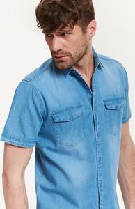 Błękitna koszula Top Secret