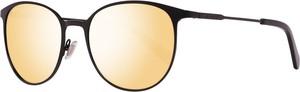Czarne okulary damskie Fossil