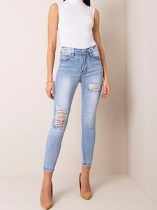 Niebieskie jeansy Pretty Style