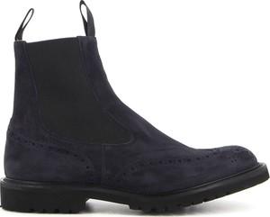 Czarne buty zimowe Tricker`s