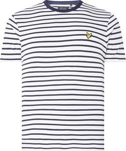 T-shirt Lyle & Scott w stylu casual z bawełny