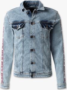 Niebieska kurtka CLOCKHOUSE w młodzieżowym stylu