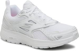 Buty sportowe Skechers z płaską podeszwą ze skóry ekologicznej