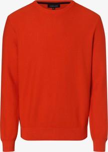 Czerwony sweter Andrew James w stylu casual