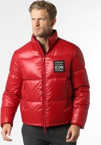 Czerwona kurtka Armani Exchange