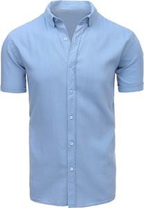 Koszula dstreet z bawełny z krótkim rękawem
