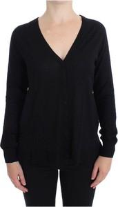Czarny sweter Dolce & Gabbana z wełny w stylu casual