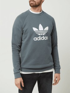 Bluza Adidas Originals z nadrukiem w sportowym stylu z bawełny
