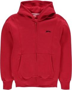 Czerwona bluza dziecięca Slazenger
