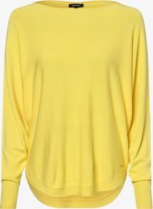 Żółty sweter More & More w stylu casual