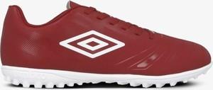 Czerwone buty sportowe Umbro sznurowane