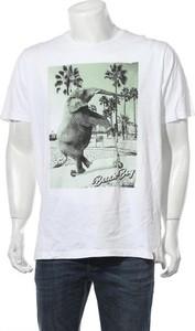 T-shirt French Kick z nadrukiem w młodzieżowym stylu z krótkim rękawem