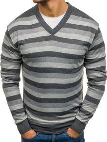 Szary sweter denley