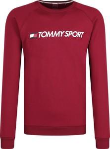 Czerwona bluza Tommy Sport krótka