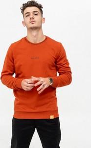 Czerwona bluza BREEZY z dzianiny