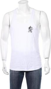 T-shirt Gym King w sportowym stylu z krótkim rękawem
