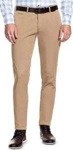 Brązowe spodnie giacomo conti