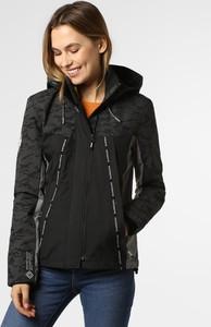 Czarna kurtka Superdry krótka w stylu casual