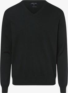 Zielony sweter Andrew James z bawełny w stylu casual