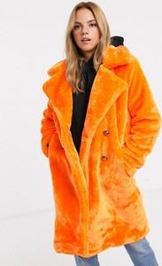 Pomarańczowy płaszcz Qed London
