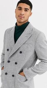 Zielony płaszcz męski Gianni Feraud z wełny