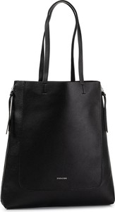 Czarna torebka PUCCINI na ramię matowa