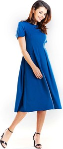 Sukienka Awama z krótkim rękawem midi