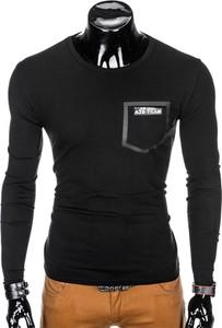 Czarna koszulka z długim rękawem Edoti