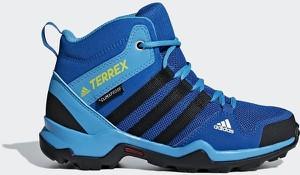 Buty trekkingowe dziecięce Adidas sznurowane w paseczki