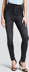 Granatowe jeansy Guess z bawełny