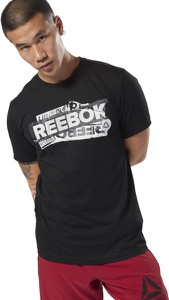 T-shirt Reebok z bawełny