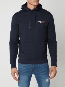 Granatowa bluza Tommy Jeans z bawełny