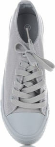 Trampki Ideal Shoes z tkaniny