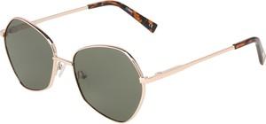 Zielone okulary damskie Le Specs