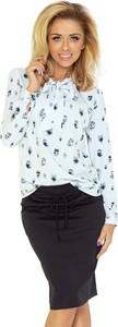 Bluzka Merg z długim rękawem ze sznurowanym dekoltem