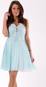 Niebieska sukienka Eva&Lola