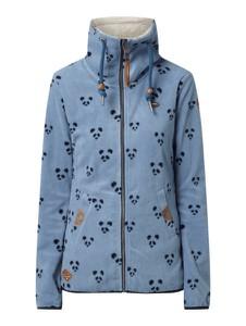 Niebieska kurtka Ragwear z plaru w stylu casual