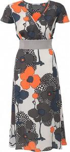 Sukienka POTIS & VERSO z krótkim rękawem wyszczuplająca