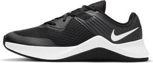 Czarne buty sportowe Nike z tkaniny sznurowane