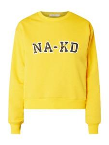 Bluza NA-KD z dzianiny w młodzieżowym stylu krótka