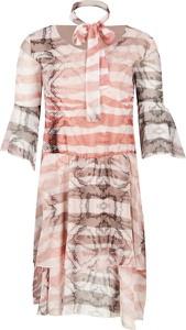 Sukienka Trussardi Jeans mini rozkloszowana w stylu casual