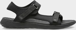Sandały 4F z płaską podeszwą w stylu casual na rzepy