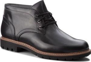 Buty zimowe Clarks sznurowane