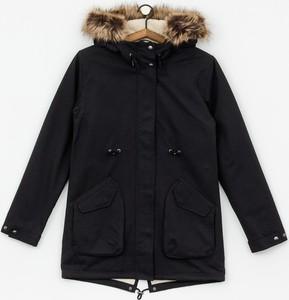 Czarna kurtka Volcom z bawełny