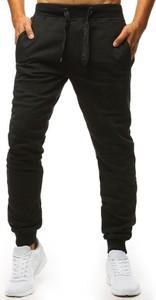 Czarne spodnie Dstreet z bawełny