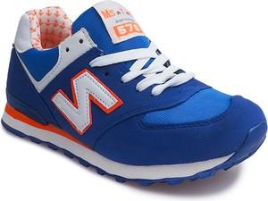 Niebieskie buty sportowe gemre