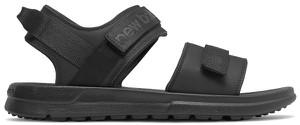 Czarne buty letnie męskie New Balance na rzepy