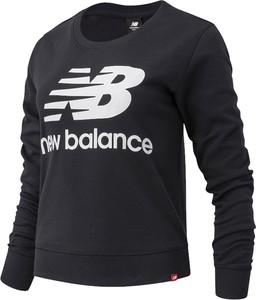 Czarna bluza New Balance z tkaniny