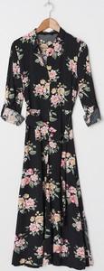 Sukienka House z długim rękawem maxi w stylu boho