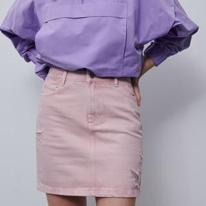 Spódnica Reserved mini w stylu klasycznym z jeansu